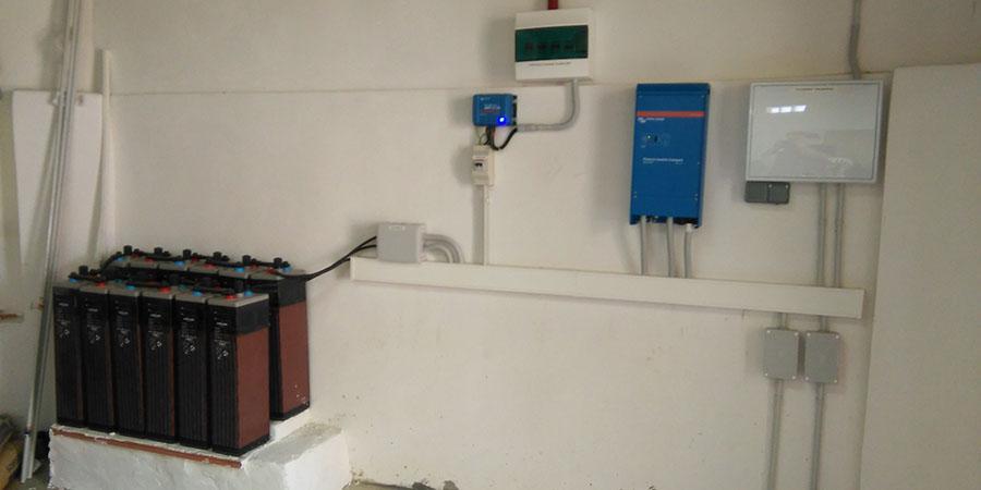 Finalizamos Proyecto Solar En Vivienda Aislada