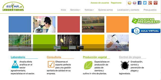 Laboratorios Edyma estrena web