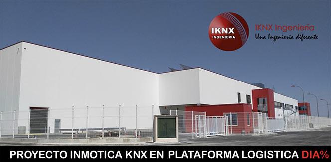 Finalizado proyecto de planta logística en Zaragoza