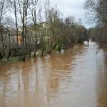 Desbordamiento de rios y canales